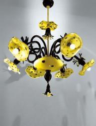 luminator люминатор \ Afrika Pom Pon K6 chandelier.