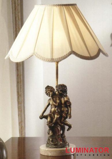 Схема светильника настольного