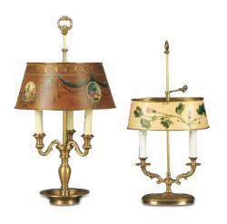 luminator люминатор \ Bouillotte Medaglioni, Bouillotte Edera.
