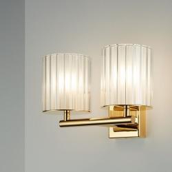 Flute Wall Light Double.