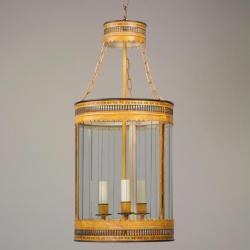 Round Fretwork Lantern.